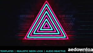 neon sign kit videohive after effects template free download