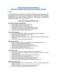 Warehouse Associate Sample Resume by Crane Operator Resume Examples Samples In Sample Resumes For