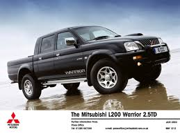 mitsubishi colt pick up what van magazine award the mitsubishi l200 pick up with gold for