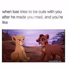 Good Relationship Memes - when bae tries to be cute and youre mad funny pinterest bae