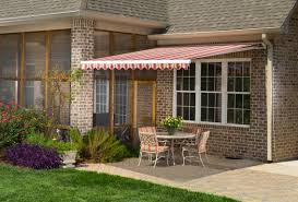 Yard Awning Retractable Awnings Gallery L F Pease Company