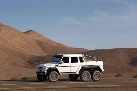 mercedes 6 wheel pickup mercedes benz g63 amg 6x6 truck details and pictures
