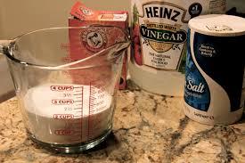 Baking Soda And Vinegar Bathtub Unclog Shower Drains W Salt Baking Soda U0026 Vinegar Repinning