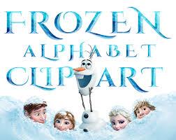 sale frozen alphabet clipart 40 png printable frozen letters