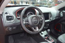 jeep dashboard jeep compass trailhawk dashboard at 2017 dubai motor show indian