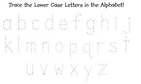collection of solutions tracing small letters worksheets on