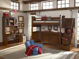 bunk beds white loft bed with desk staircase storage loft bed