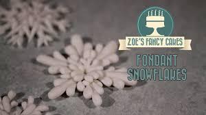 snowflake cake topper fondant snowflake cake topper modelling paste how to cake