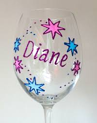wine glass gifts personalised 21st birthday gift wine glass chagne flute