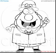good leprechaun black and white displaying images for clipart with
