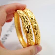 wedding bangle bracelet images 2018 over a hundred package to tact plated 24k gold bangle jpg