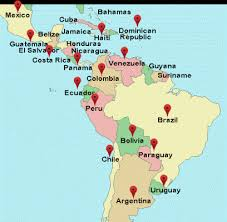 map of mexico south america mexico central south america chalmers suspensions