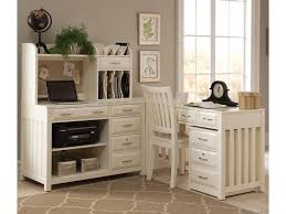 White L Shaped Desk With Hutch Liberty Furniture Hton Bay White 4 L Shaped Desk