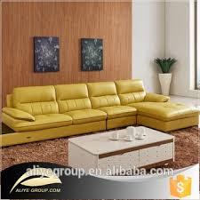 orange leather sectional sofa as112 orange leather sectional sofa yellow leather sofa buy