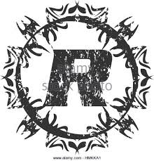 letter r black and white stock photos u0026 images alamy
