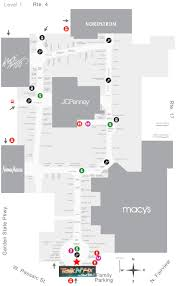 westfield mall map garden state plaza map my