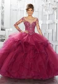 vizcaya quinceanera dresses sleeved quinceanera dress by mori vizcaya 89142 abc fashion