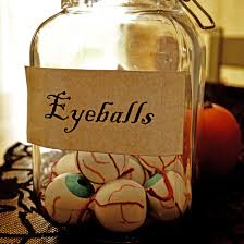 halloween jar of eyeballs arthur and olive
