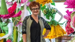 costume designer wants botanic gardens floral exhibition to be