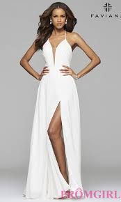 faviana corset back prom dress promgirl