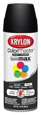 amazon com krylon k05160207 colormaster paint u0026 primer black