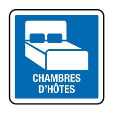 pictogramme chambre cc15 panneau chambre d hôtes panneau obligation panneau de