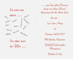 sprüche für einladungen geburtstag einladung spruche designideen