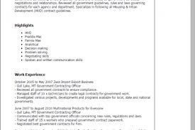 Federal Contract Specialist Resume Awesome Government Contract Specialist Resume Photos Simple