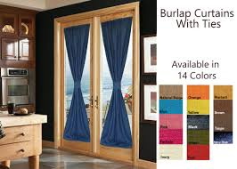 Curtains With Ties Custom Curtains Door Curtains With Ties Burlap