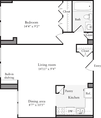 1 Bedroom Plus Den Meaning The Flats At Dupont Circle Apartments In Dc Dupont Circle 2000