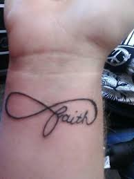 100 infinity symbol tattoo on wrist faith infinity symbol