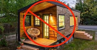 miniature homes false tiny homes ban