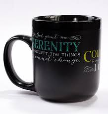 serenity prayer mug addiction treatment publishing education research and recovery