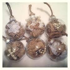 rustic christmas ornaments diy country style christmas decorations