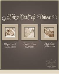 The Best Of Times Vinyl Wall Quote With Personalized Name And - Family room wall quotes