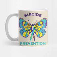 prevention awareness butterfly ribbon prevention