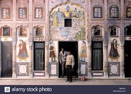 Painted Houses India Rajasthan Shekavati Region Havelis Painted Houses Of The