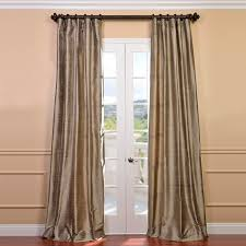 Raw Silk Drapery Panels by Cashmere Curtains Half Price Drapes