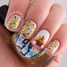 40 best thanksgiving images on pinterest holiday nails fall