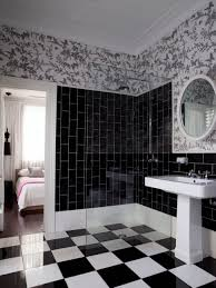black white bathroom tiles ideas furniture home black and white bathroom wall tile designs glass