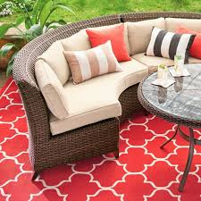 Brentwood Patio Furniture Brentwood Outdoor Sectional Grandin Road