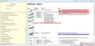 28 2003 mitsubishi lancer es repair manual 22189 2003