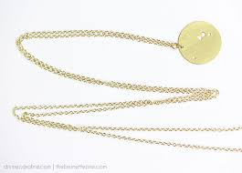 Create Your Own Necklace Make Your Own Zodiac Constellation Necklace More Com