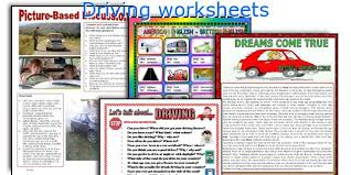 english teaching worksheets driving