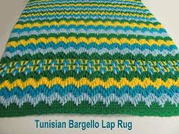 Tunisian Rug Tunisian Bargello