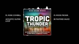 tropic thunder v 1 tropical house massive presets youtube