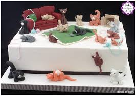 crazy cat lady cake by bakedbybeth just stuff pinterest