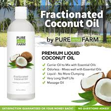 amazon com fractionated coconut oil liquid large 16oz with