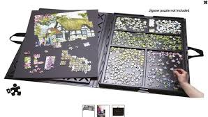 jigsaw puzzle tables portable my new addiction why didn t someone warn me puzzle board