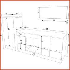 taille standard meuble cuisine beautiful taille standard meuble